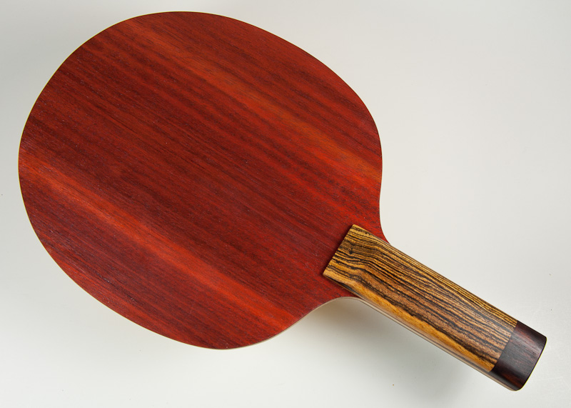 Blade: Bloodwood<p><br />Handle: Bocote and East Indian Rosewood