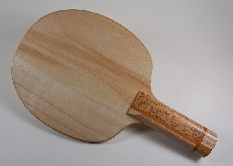 Blade: Willow<p><br />Handle: Masur Birch, White Oak, and Pacific Yew